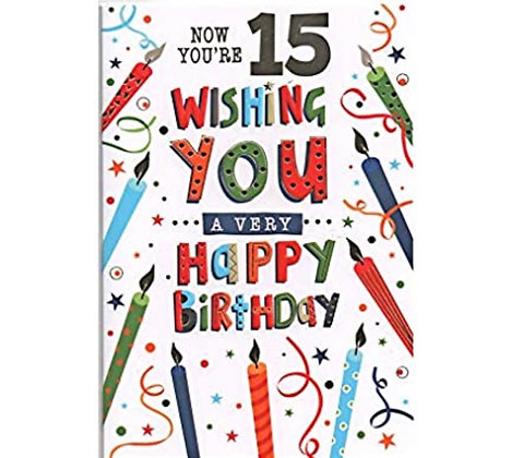 Birthday - Age 15