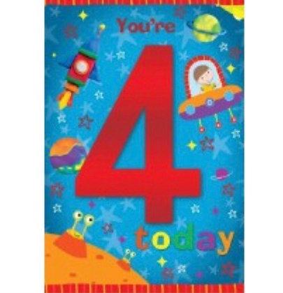 Birthday - Age 4