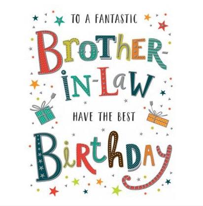 Birthday - Brother in Law