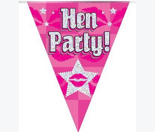 Bunting - Hen Party