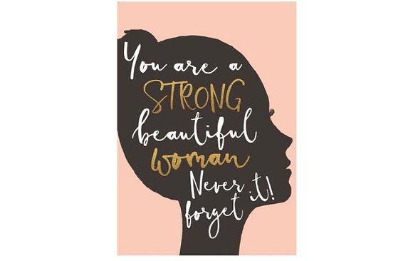 Strong Beautiful Woman