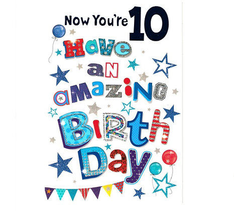 Birthday - Age 10