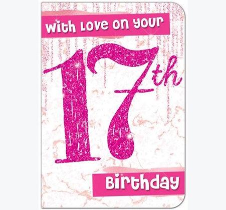 Birthday - Age 17