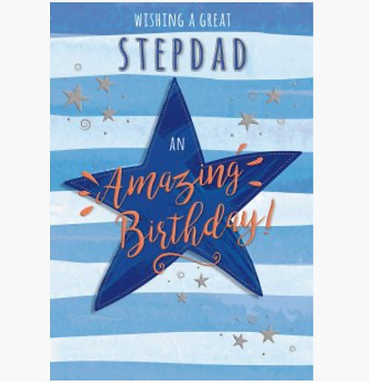 Birthday - StepDad