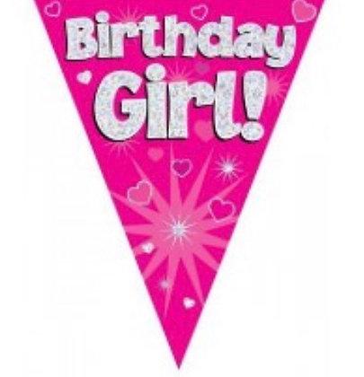 Bunting - Birthday Girl