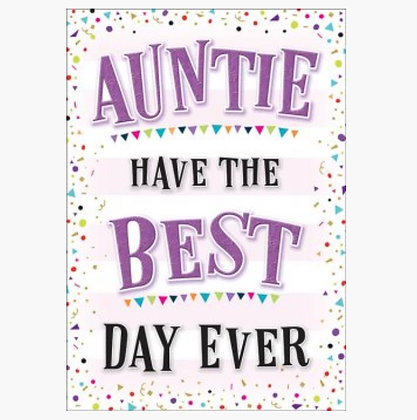 Birthday - Auntie