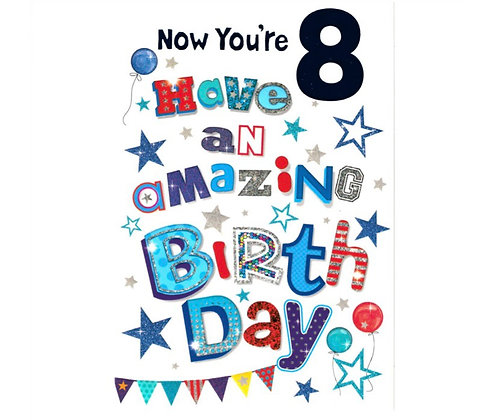 Birthday - Age 8