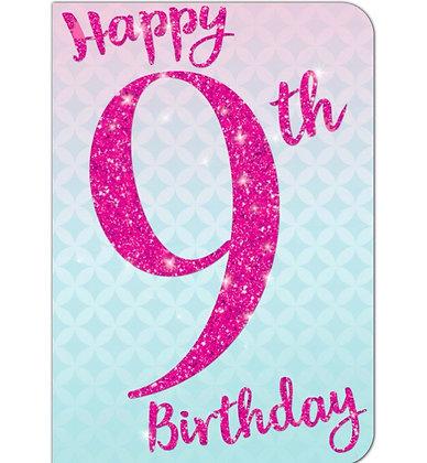 Birthday - Age 9