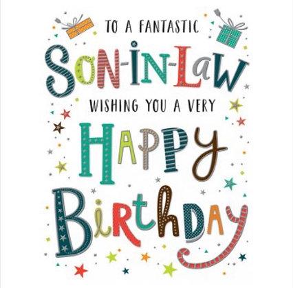 Birthday - Son in Law