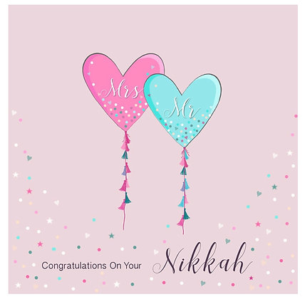 Congratulations on your Nikkah