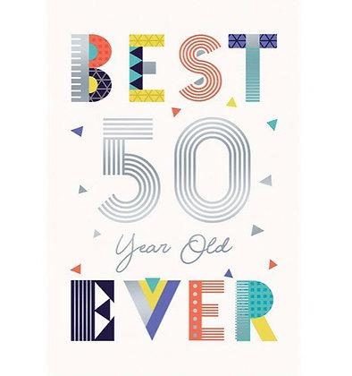 Birthday - Age 50