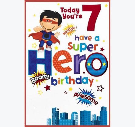 Birthday - Age 7