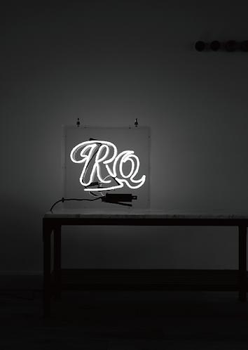 Neon acrylic box