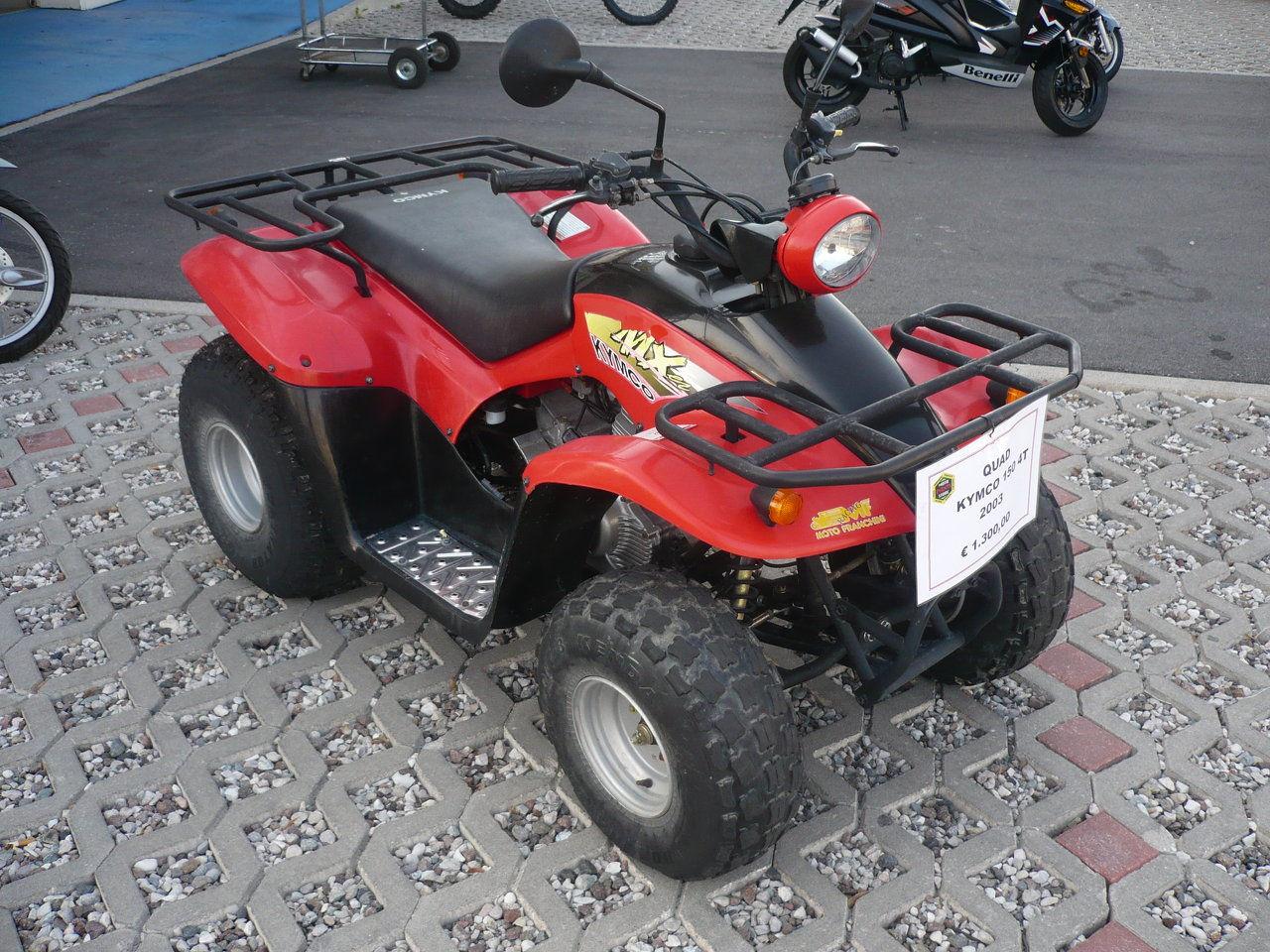 quad kymco usato