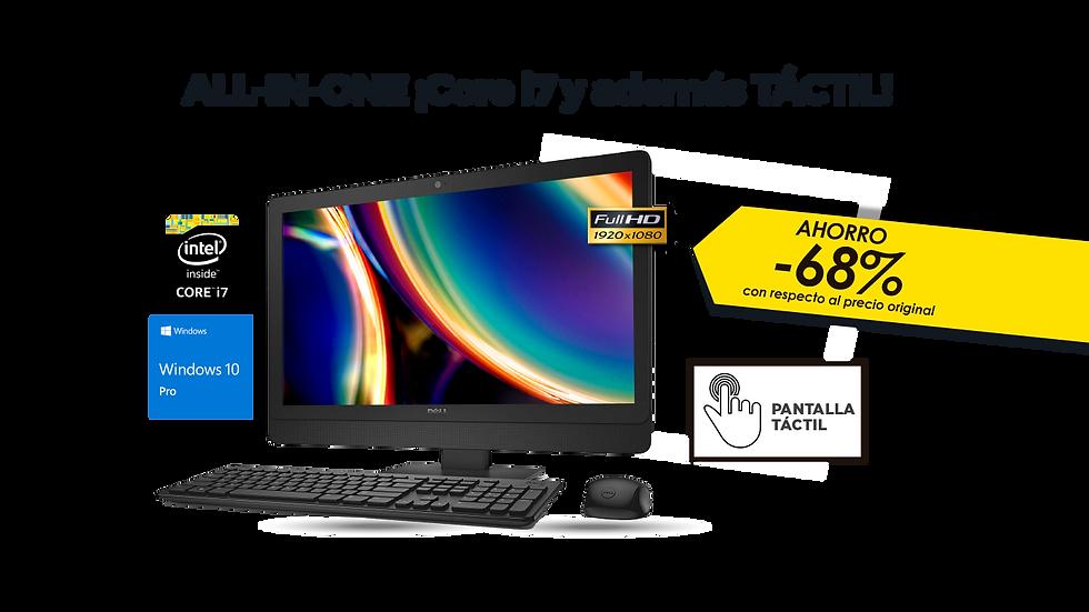 All-in-one DELL OPTIPLEX 9030 AIO - táctil - liquidación