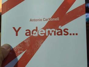 Talentos- Filosofía en la calle en la presentación del poemario de Antonio Carbonell.