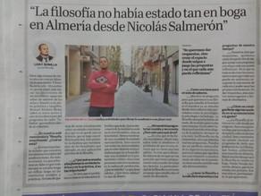 Entrevista a Manuel Álvarez -vocal Filosofía en la calle.