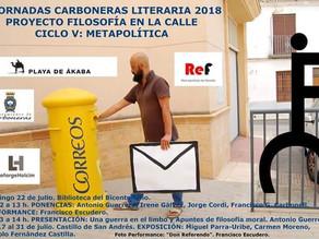 Filosofia en la calle V. Carboneras Literaria