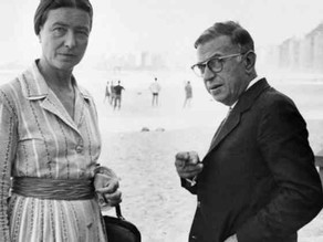 Jean-Paul Sartre y Simone de Beauvoir
