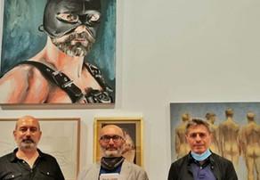 Rubén García muestra sus fotografías en una exposición sobre temática LGTBI+