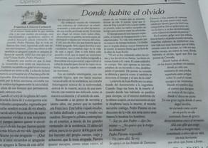 DONDE HABITE EL OLVIDO