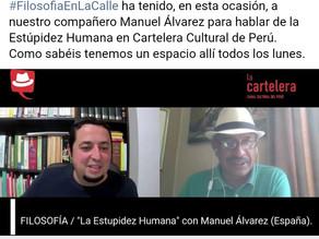 Manuel Álvarez en Cartelera TV