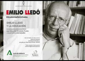 Emilio Llegó y la educación.