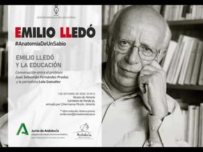 Emilio Lledó y la educación.
