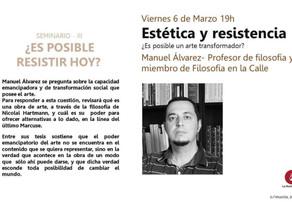 Manual Álvarez - Charla en La Resistencia.