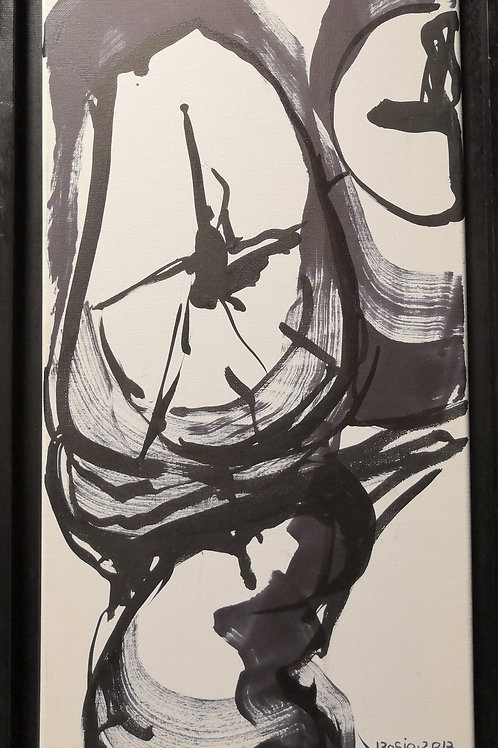 Peinture Petite  Vanité #8 de Laurent Bosio