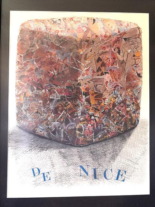 Lithographie Carnaval de Nice César