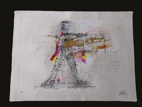 Lithographie de César