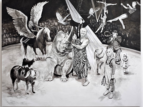 "Digigraphie ""Le Cirque"" de Svetà Marlier"