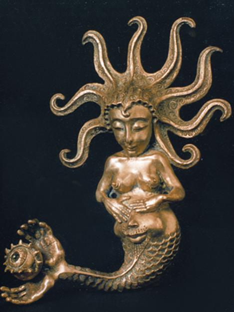 GORGOGNE Bronze by SAK
