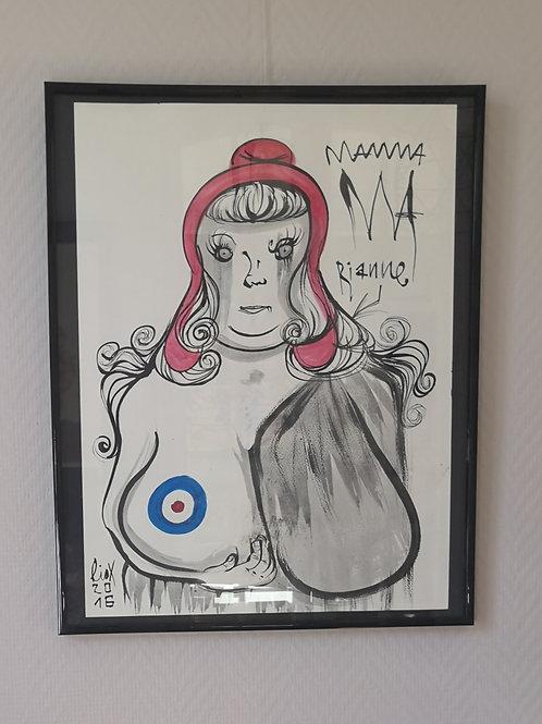 Marianne  Mama #1 par Liox