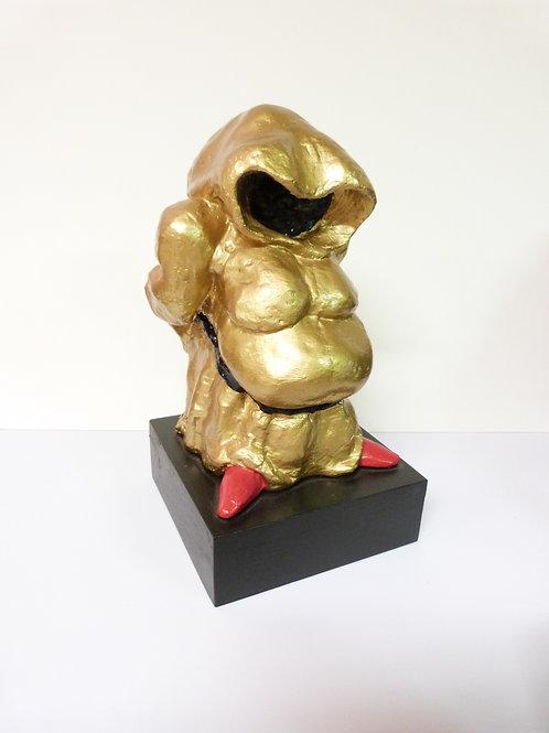 Gnome doré de Laurent BOSIO