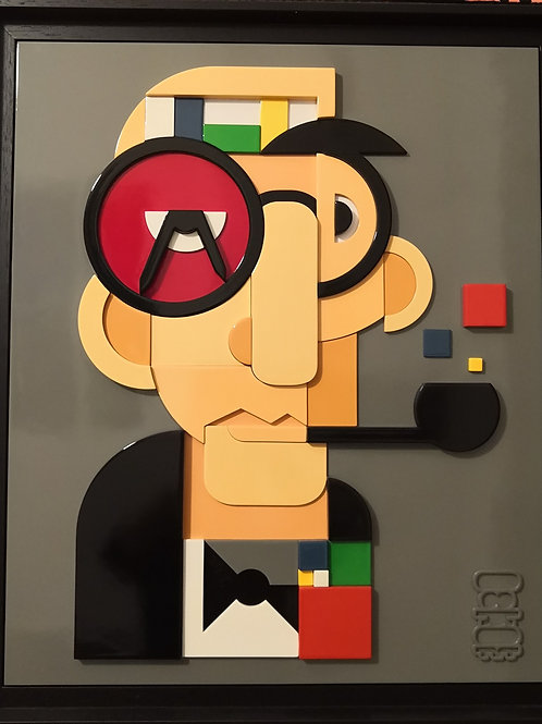3 D Le Corbusier  de l'ariste Nokat