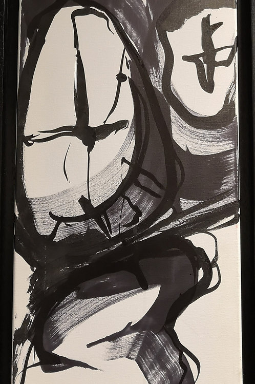 Peinture Petite  Vanité #5 de Laurent Bosio