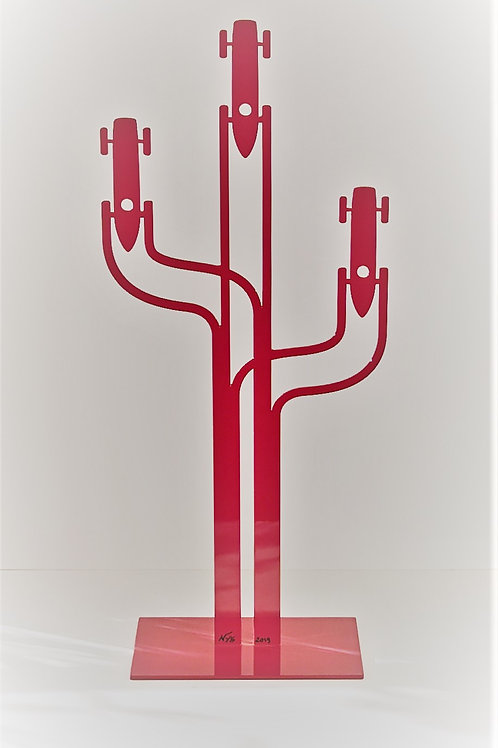 Car Tu Traces de 50 cm Rouge d'Hervé NYS