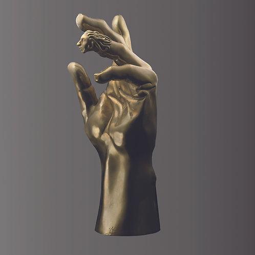 MARIAGE bronze de l'artiste SAK