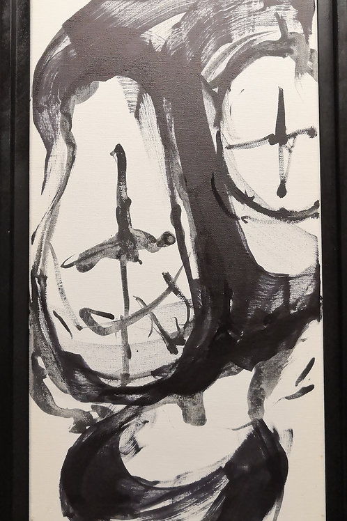 Peinture Petite  Vanité #6 de Laurent Bosio