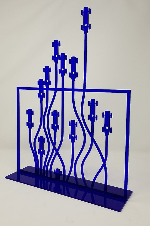 Echappées en plexi Bleu d'Hervé NYS
