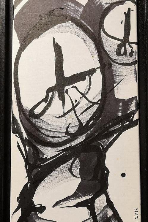 Peinture Petite  Vanité #2 de Laurent Bosio