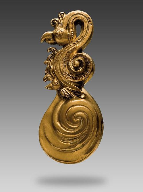 FLAMANT ROSE  bronze de l'artiste SAK