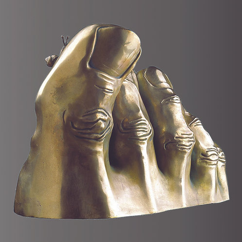 BERTHE bronze Poli de l'artiste SAK
