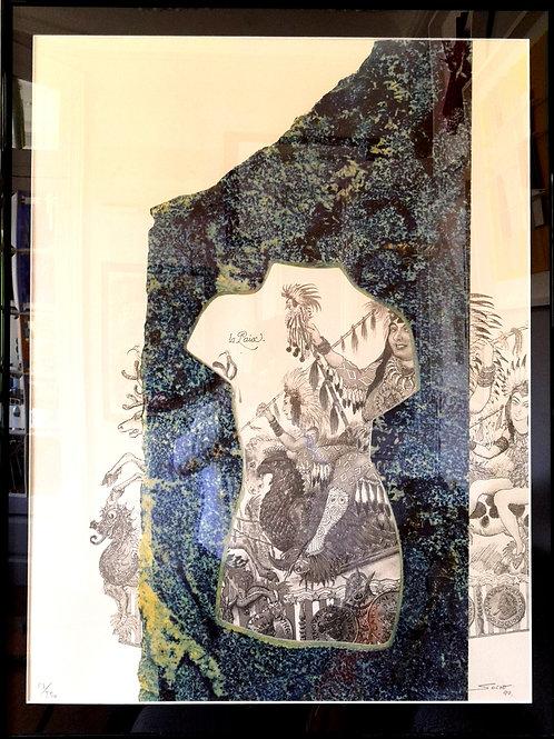 lithographie Carnaval de Nice de   Sacha SOSNO