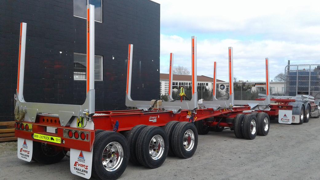 Evans 5 axle trailer