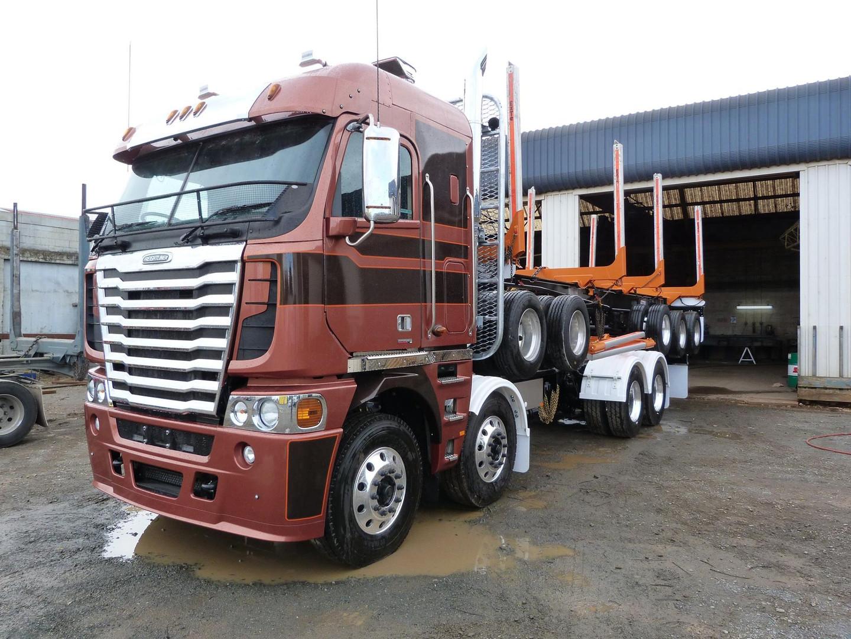 Freightline Argosy & 5 axle trailer