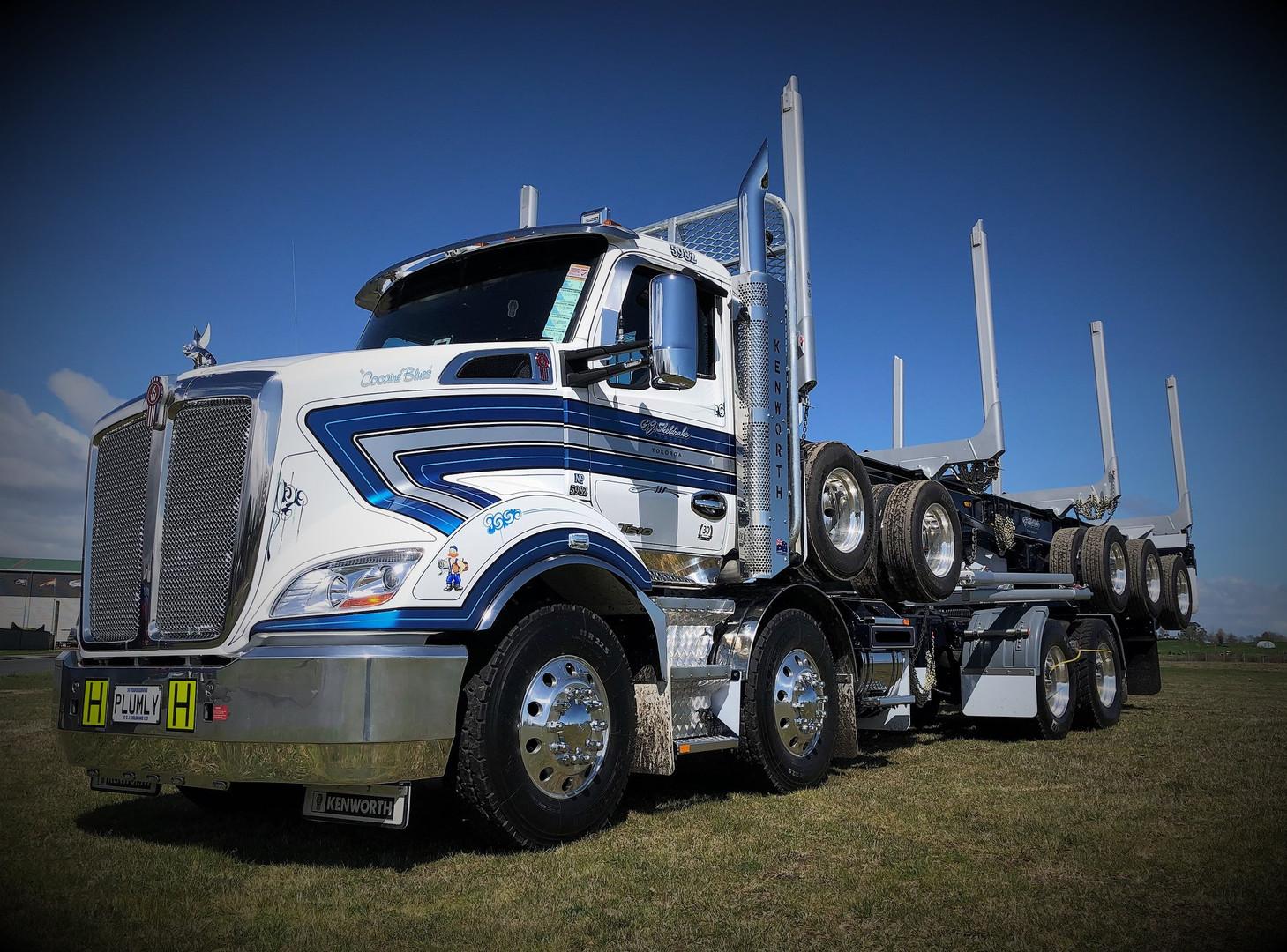 GJ Sheldrake KW T610 & 5 axle trailer