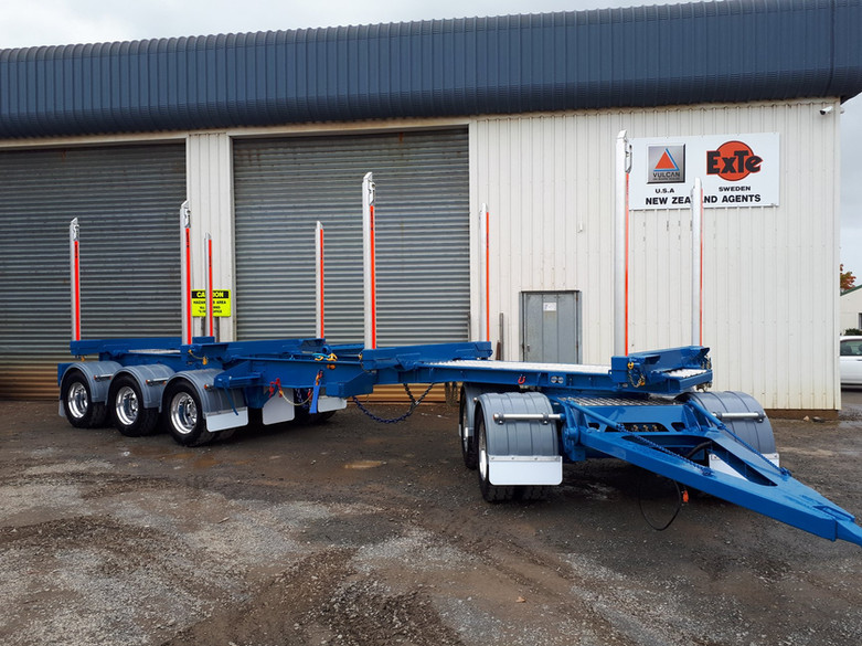 K Scott Contracting 5 axle trailer